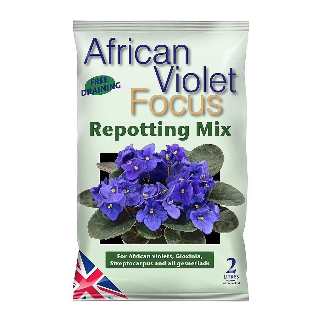 Growth Technology African violet Focus Repotting mix (2L)