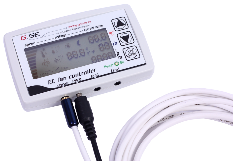 GSE EC Fan controller with LCD screen