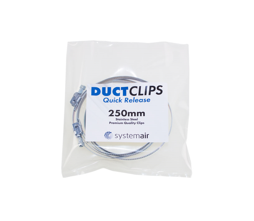Systemair Ducting Quick Release Clips