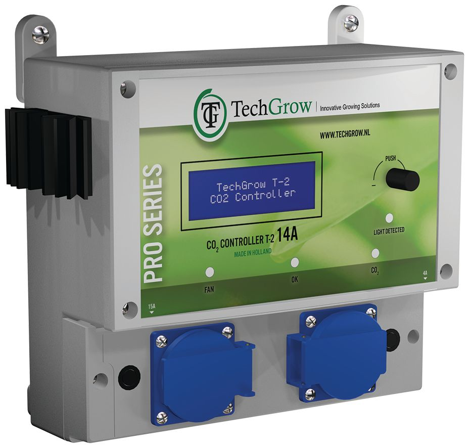 TechGrow T-2 Pro Co2 controllers