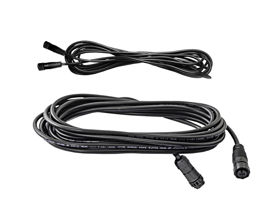 Lumatek LED Driver Remote Use 5m Extension Cables (x2)