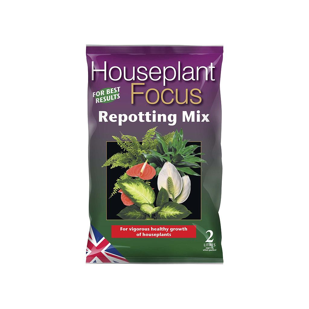 Growth Technology Houseplant Focus Repotting Mix