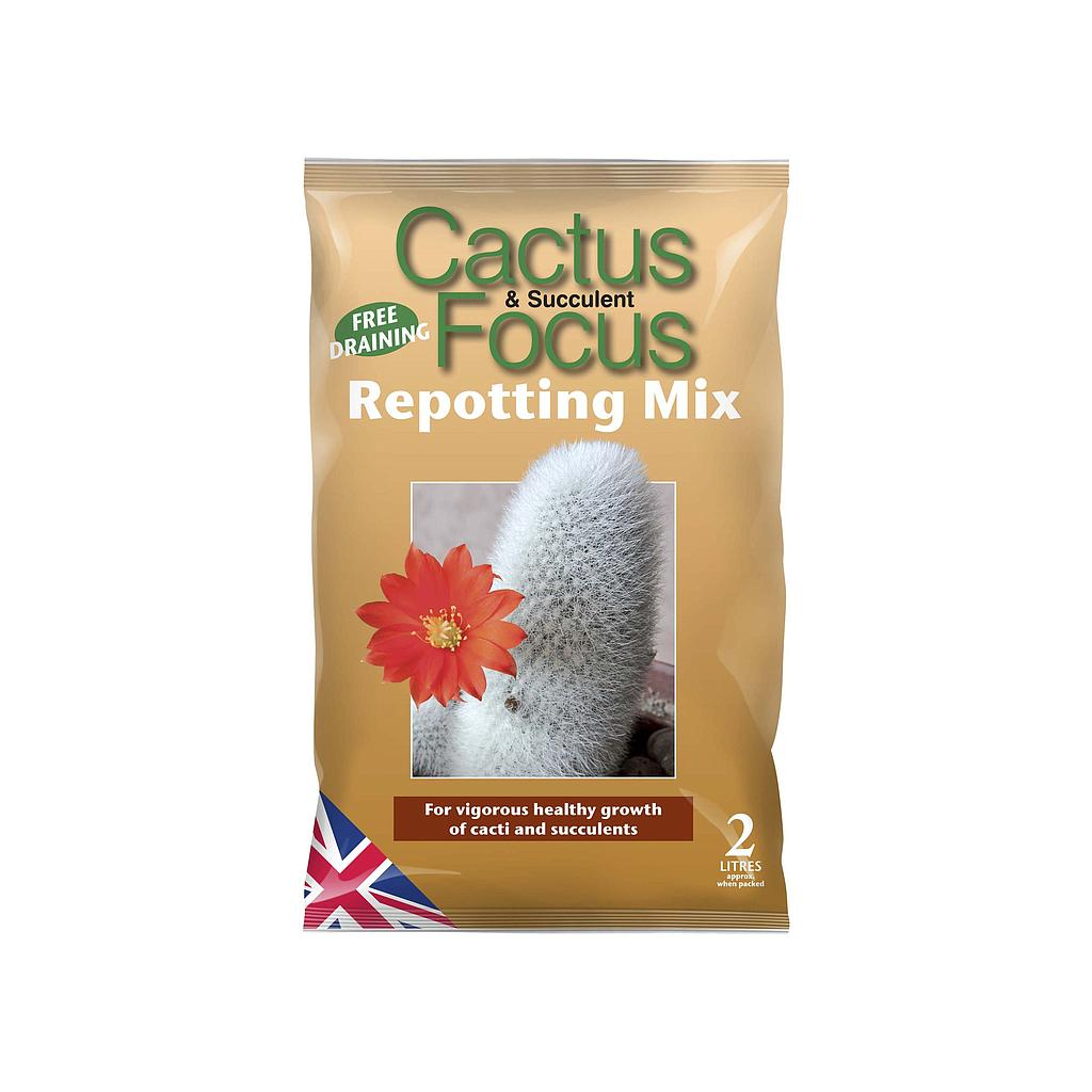 Growth Technology Cactus & Succulent Focus Repotting Mix